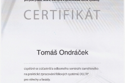 Certifikát Delta