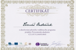 Certifikát-ŽA-2004