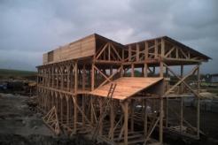 konstrukce dřevostavby