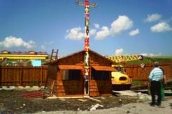 indiánský domek